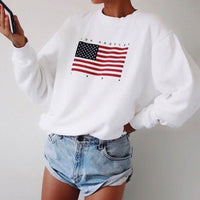 Wram Letter print fashion Long Sleeve Hoodie Sweatshirt