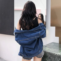 New BF Loose Plus Size Short Cowboy Coats