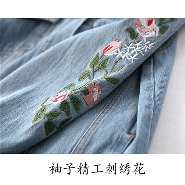 new wave loose wild student denim jacket jacket shirt