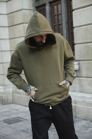 Very good quality nice hip hop hoodies with fleece WARM sweatshirt
