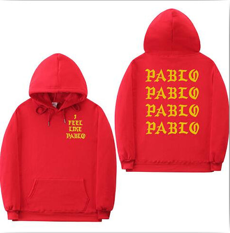 I Feel Like Paul Pablo Kanye West sweat homme Sweatshirt Hoodies