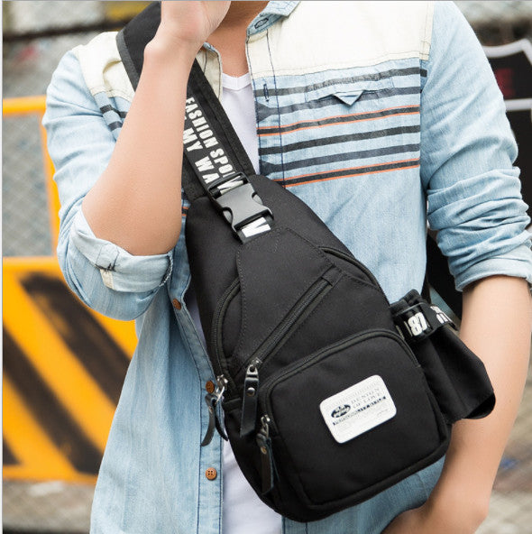 waterproof shoulder Messenger chest bags Small Sling Bags Shoulder Crossbody Bag