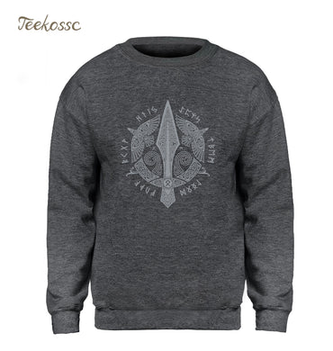 Viking Berserker Stylish Hoodie Crewneck Sweatshirts