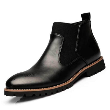 Chelsea Boots Ankle Boots Big size Black/Brown/Wine Red
