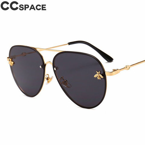 Pilot Fashion Shades Metal Frame Vintage Brand Glasses