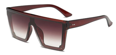 Flat Top Classic Square Sunglasses