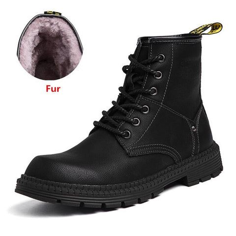 Fashion Ankle Motorcycle Martin Snow Keep Warm Boots