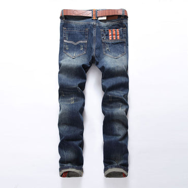 Hot Sale Fashion Jeans Dsel Brand Straight Fit Ripped Jeans