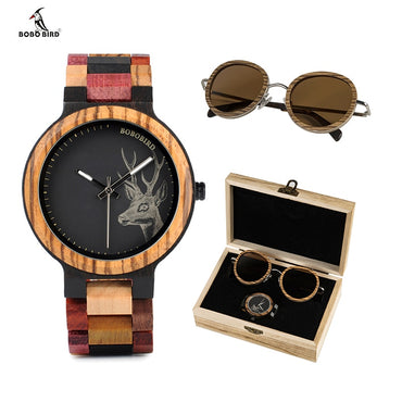 Wooden Sunglasses and Top Brand Ladies Quartz Watches