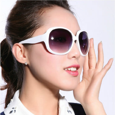 Fashion Oversized Vintage Large Oval Sunglasses