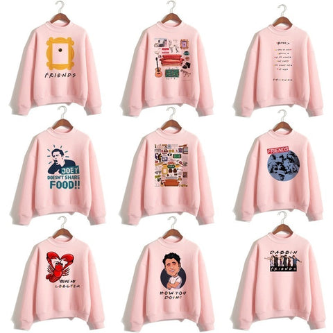 New Friends Tv Hoodie Sweatshirts Clothing Streetwear