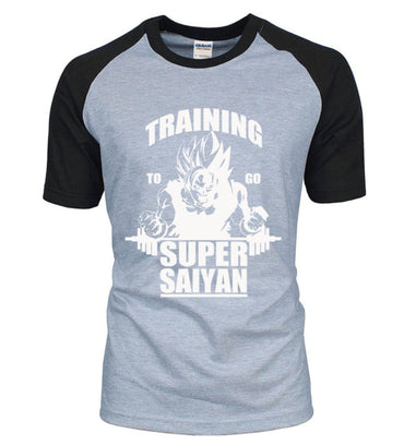 Adult Anime Dragon Ball Super Saiyan cotton high quality t-shirt