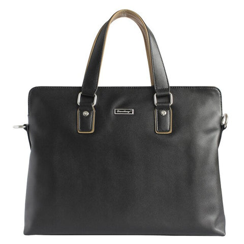 Casual Briefcase Business Shoulder Bag Genuine Leather