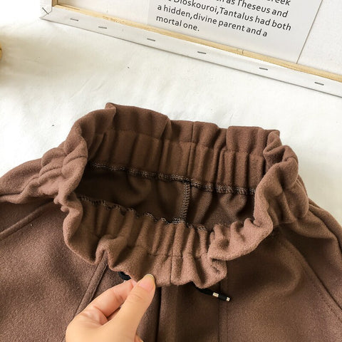 High Waist Casual Loose Thick Warm Elastic Straight Booty Shorts