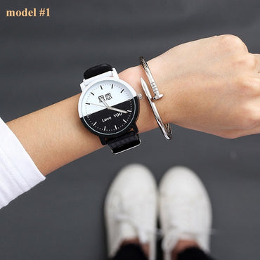 Brand Simple Wrist Watch Silicone Watch Ladies Wristwatch
