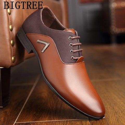 formal dress leather wedding office scarpe Oxford Shoes