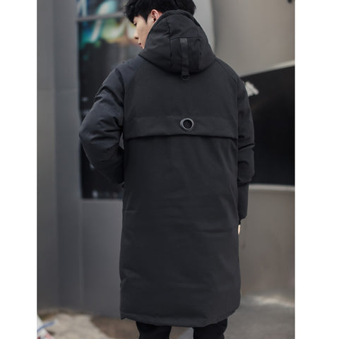 long parkas New warm Windproof Casual Outerwear Padded Cotton Coat