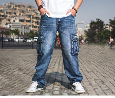 Jeans Pants Casual Cotton Denim Trousers