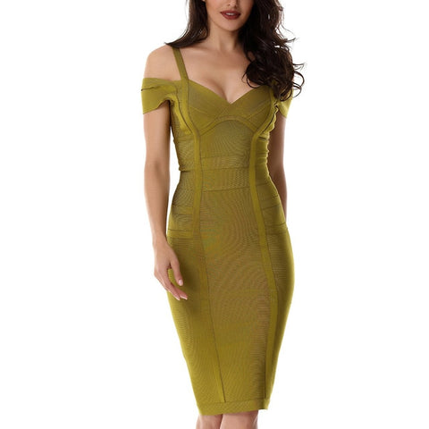 Off The Shoulder Vestidos Sexy Clubwear Evening Party Dress