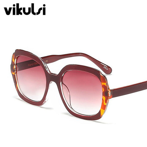 New Luxury Cat Eye Sunglasses Fashion Square Sun Glasses