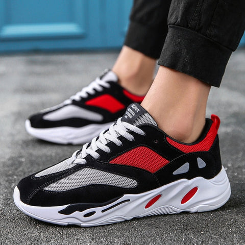 Vintage Dad Kanye Fashion West Mesh Light Breathable Casual Tenis Shoes