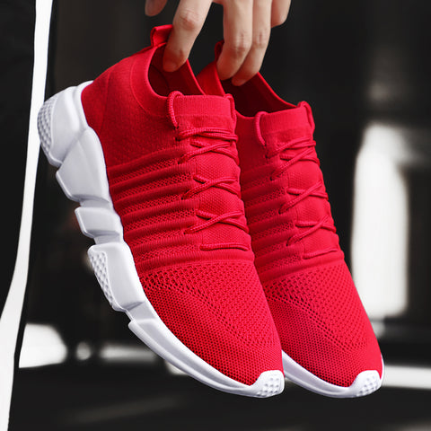 Brand Comfortable Casual Male Outdoor Walking Shoes Tenis Plus Size