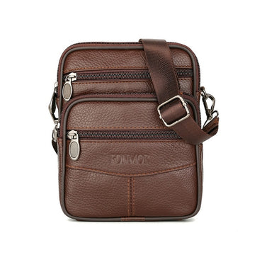 Vintage Leather Bags Genuine Leather Crossbody Bag