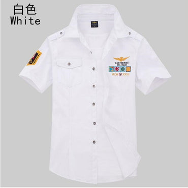 airforce uniform military short sleeve shirts