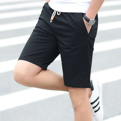 Cargo Cotton Joggers Casual Home Sport Patchwork Straight Shorts