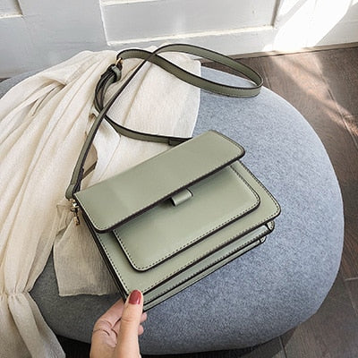Luxury New Designer Small Crossbody Bags PU Leather Purses and Handbags