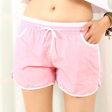 New Cute Candy Color Patchwork Loose Shorts