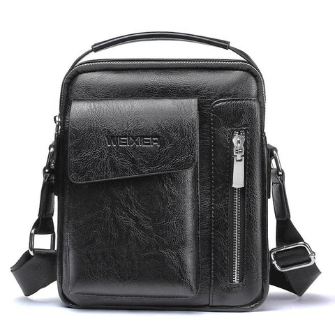 new fashion style crossbody leather messenger bag vintage casual shoulder bags