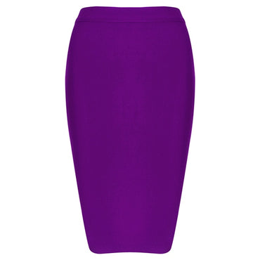 New Knee Length Midi hl Pencil Office High Waist Bandage Skirt