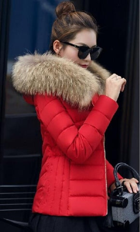 New Hot High Quality Warm Jacket Lady Park Coats