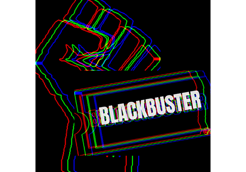 BLACKBuster Film Series Logo - Legacy Drive In Movie Theatre Victoria BC