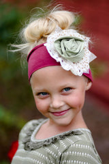 Giggle Moon Girl's Precious Knit Headband