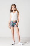 Jak & Pepper Girl's Indian Summer Can You Dig It Tank in Water Lily - Esa's Closet - Girl's Online Clothing Boutique