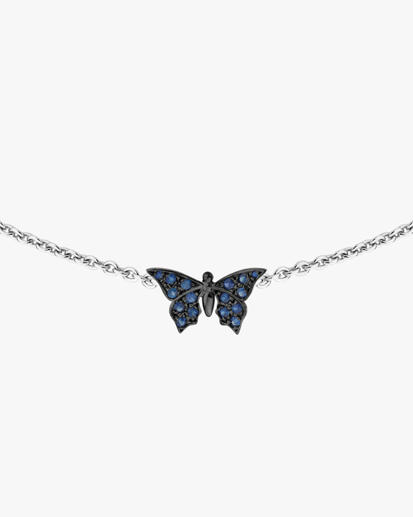 Colored Mini Butterfly Necklace
