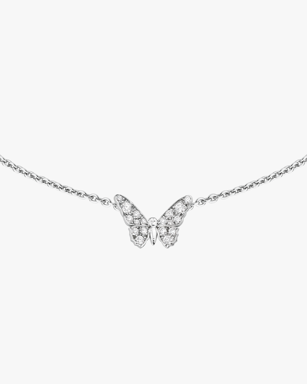 Diamond Mini Butterfly Necklace