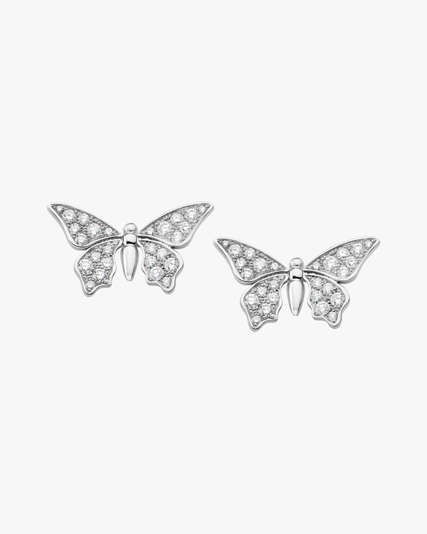 Solo Butterfly Earrings