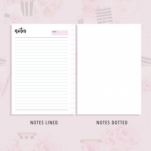Planner Essentials | Lavender Pink Version