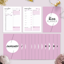 Load image into Gallery viewer, Ultimate Blog Planner | Lavender Pink Version