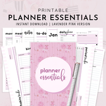 Load image into Gallery viewer, Planner Essentials | Lavender Pink Version