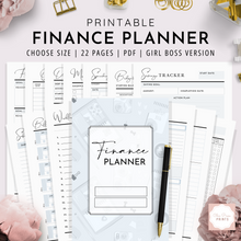 Load image into Gallery viewer, Finance Planner | Girl Boss Version