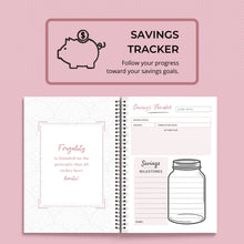 Load image into Gallery viewer, A5, Printable Finance Planners | Budgeting Planner | Budget Planner
