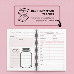 A5, Printable Finance Planners | Budgeting Planner | Budget Planner