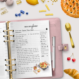 A4, Meal Planner Bundle | Instant Download | PDF