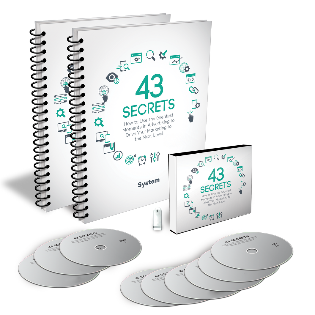 43 SECRETS – How To Use The Greatest Moments In Advertising To Drive Your Marketing To The Next Level