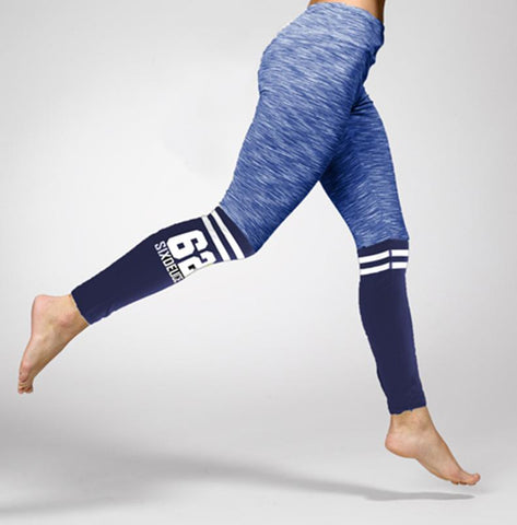Six Deuce The Runner leggings, Navy - Six Deuce 62