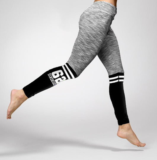 Six Deuce The Runner Leggings, Grey/Black - Six Deuce 62